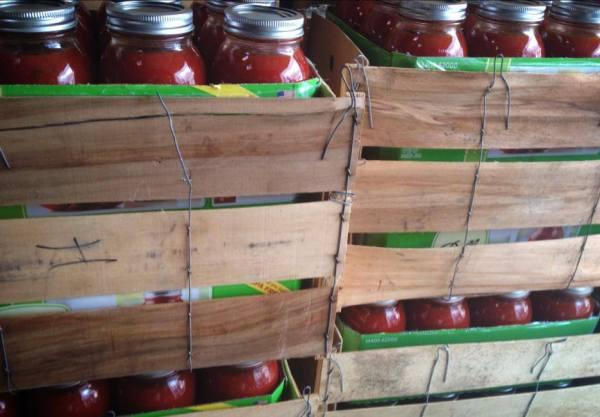 Cases of Jars