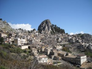 My mother's hometown of Caltabellotta, Sicily