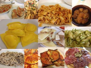 Just a few of the many amazing foods from the mountains of Abruzzo