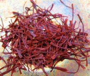 Saffron threads from Navelli