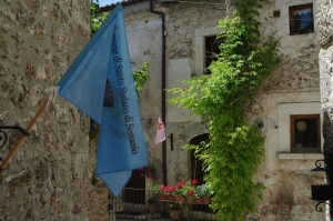 The picturesque village of Santo Stefano di Sessanio