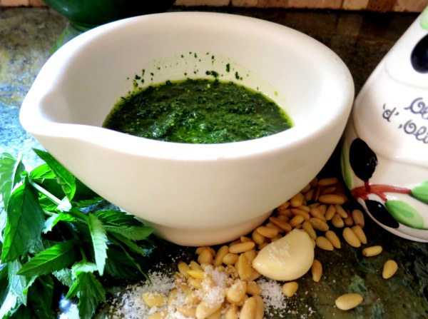 Pesto bowl