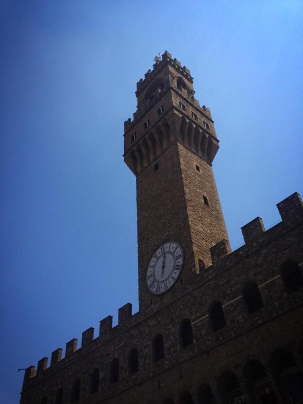 The proud Palazzo Vecchio