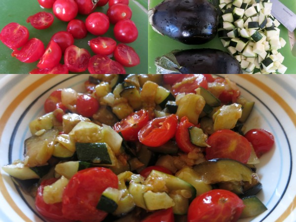 Veg collage